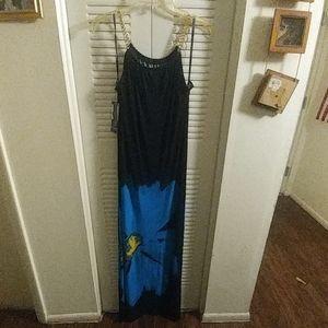 Nina Leonard Maxi Dress